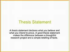 5+ whats a thesis statement Authorization Letter