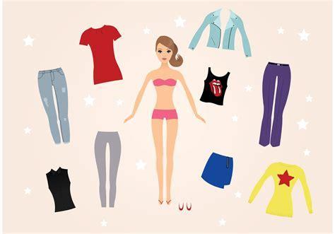 Barbie Doll Vectors   Download Free Vector Art, Stock