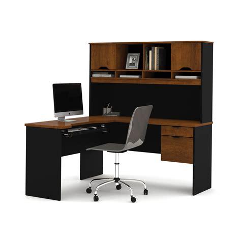 les bureaux bestar innova l shape computer desk with hutch reviews