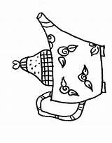 Coloring Teapot Template Tea Pot Pages Colouring Popular Coloringhome sketch template
