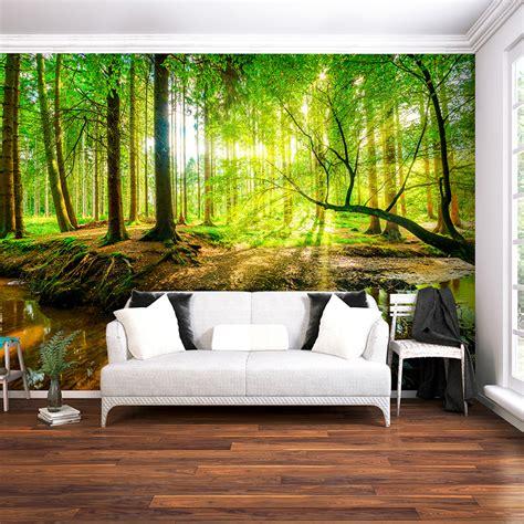 VLIES FOTOTAPETE Wald Baum TAPETE TAPETEN Schlafzimmer