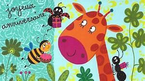 Carte Anniversaire Pour Enfant : carte musique joyeux anniversaire comptines et chanson pour enfants et bebes youtube ~ Melissatoandfro.com Idées de Décoration