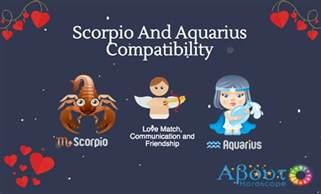 Scorpio and Aquarius Compatibility