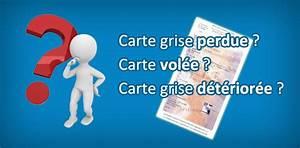 Demande De Carte Grise Par Internet : carte grise perdue ou vol e que faire ~ Medecine-chirurgie-esthetiques.com Avis de Voitures