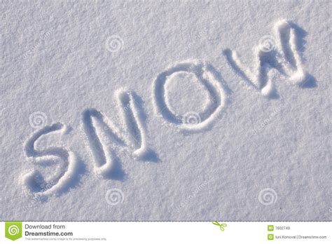 writing text   snow royalty  stock images image