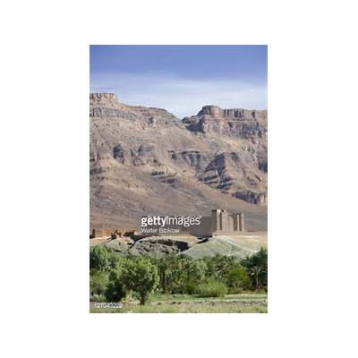Kasbah Timiderte Draa Valley Morocco Stock PhotoGetty Images
