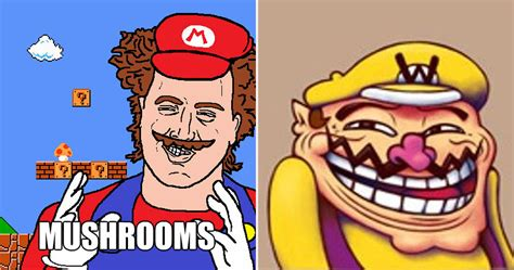 Mario Memes - super mario memes that will completely ruin your childhood