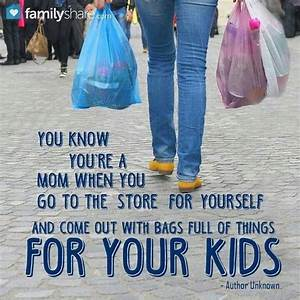 Quotes About Sh... Shopping With Mom Quotes