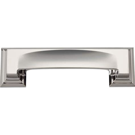 Bin Pull Cabinet Hardware by Atlas Homewares Hardware 339 Pn Cup Pull Polished