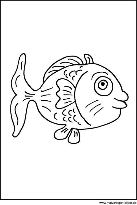 malvorlage fisch kostenloses ausmalbilder fuer kinder