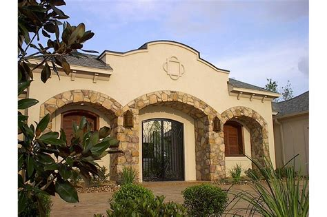 southwest spanish style house plan bedrm sq ft