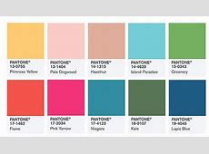 Pantone Color Institute Picks Top 10 Colors for Spring 2016