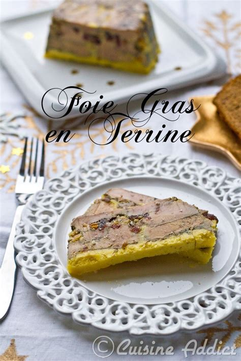 foie gras en terrine cranberries abricots s 233 ch 233 s cuisine addict
