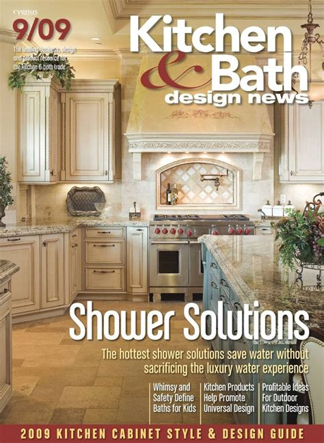 kitchen design magazine free kitchen bath design news magazine the green 1256
