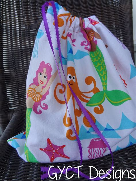 Drawstring Tote Bag Pattern | AllFreeSewing.com