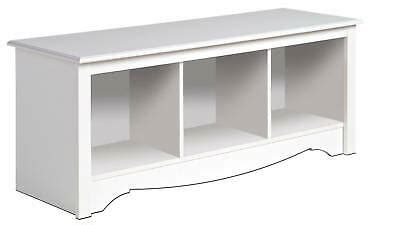 white prepac large cubbie bench  storage usd    date wednesday feb