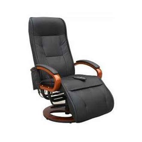fauteuil relax simili chauffant et 233 lectrique noir confort