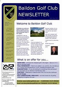 european tour golf With team newsletter template