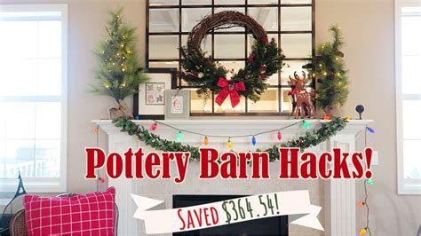 pottery barn christmas decorations website