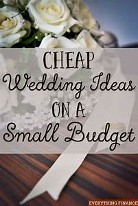 cheap wedding ideas on a small budget receptions With low budget wedding ideas