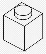 Lego Blocks Coloring Brick Ultra 3d Cube Clipart Pinclipart Illusion Optical sketch template