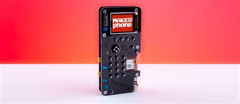 makerphone diy kit lets you build your own smartphone urdesignmag