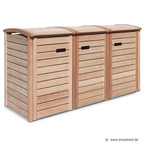 mülltonnenbox holz 3 tonnen friesenbank shop m 252 lltonnenbox holz natur f 252 r 3 tonnen