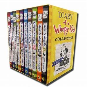 Diary Of A Wimpy Kid Collection 10 Books Set Cabin Fever