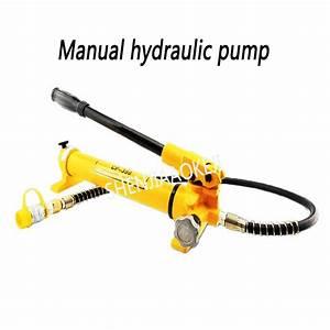 Manual Hydraulic Pump 600kg  Cm2 Ultra High Pressure Pump