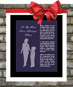 mother of the groom gift from son wedding thank by With son to mother wedding gifts