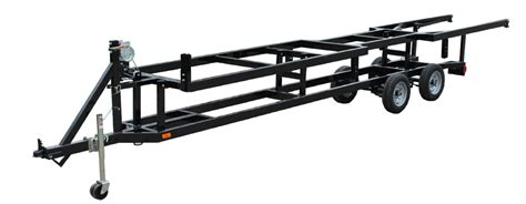Boat Trailer Axle Lift by Center Lift Pontoon Boat Trailers