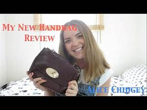 My New Mulberry Handbag Reveal and Review | Alice Chidgey ...