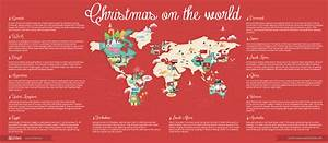 Christmas Around The World : infographics christmas around the world 24slides blog ~ Buech-reservation.com Haus und Dekorationen