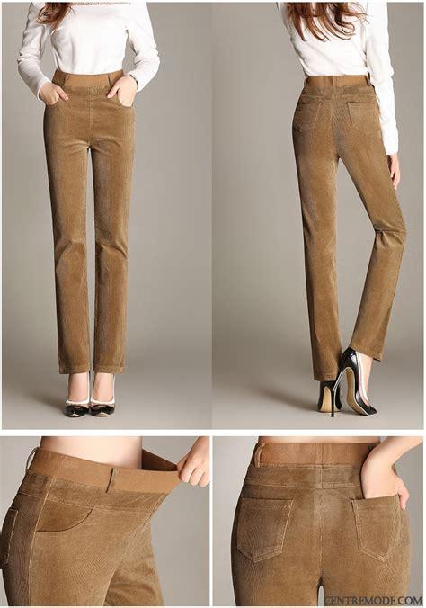 pantalon large pas cher tailleur pantalon femme blanc