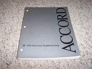 1998 Honda Accord Electrical Wiring Diagram Manual Sedan