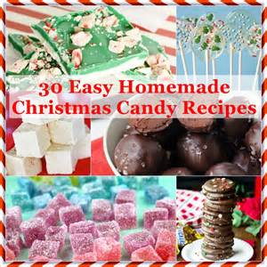 30 easy homemade christmas candy recipes