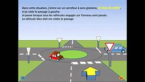 Intersection Code De La Route : cours de code carrefour sens giratoire youtube ~ Medecine-chirurgie-esthetiques.com Avis de Voitures