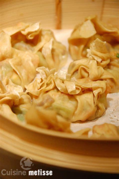 cuisine metisse tentative de tang bao raviolis vapeur aux légumes