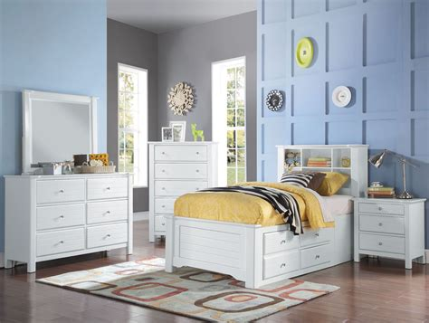 Bookcase In Bedroom by Acme Mallowsea White Youth Bookcase Storage Bedroom Set