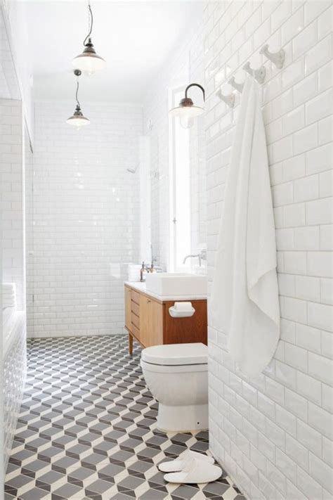 floor and decor white subway tile all white danish modern and cool tile bathroom ideas