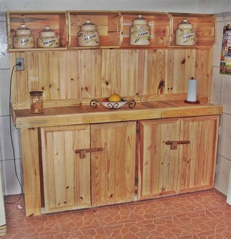 pallet kitchen cabinets diy 20 inspired wood pallet ideas pallet ideas recycled