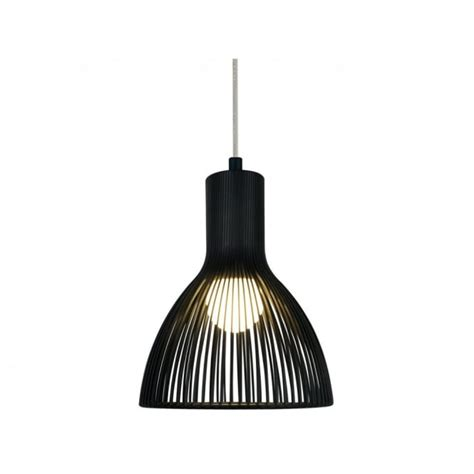 Small Black Light by Modern Black Ceiling Pendant Light In Cage Design
