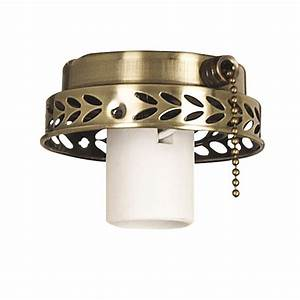 Harbor breeze light antique brass ceiling fan