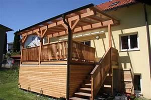 überdachte Terrasse Holz : galerie ~ Whattoseeinmadrid.com Haus und Dekorationen