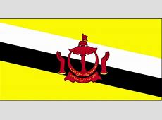 Free picture flag, Brunei