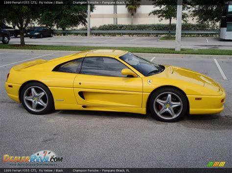 1999 Ferrari F355 GTS Fly Yellow / Black Photo #3 ...