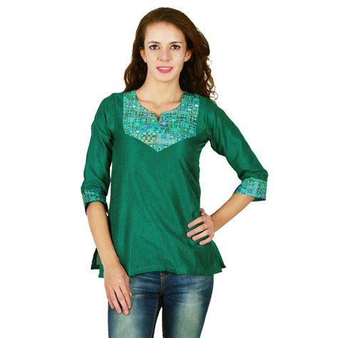 designer tops for womens indian designer kurta ethnic dupion silk