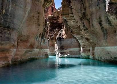 Arizona River Canyon Grand Havasu Waters Creek