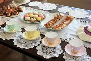 Tea Party Table Setting  Tea Party Table Setting Table