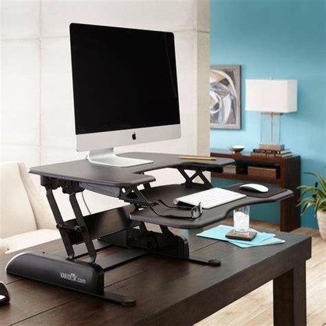 standing desk with storage height adjustable standing desks varidesk sit to stand